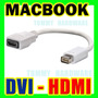 Cable Apple Mac Mini Dvi A Hdmi Adaptador De Video Macbook