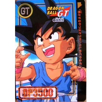 Son Goku / Dragon Ball Gt / Anime / Cards Y Tarjetas