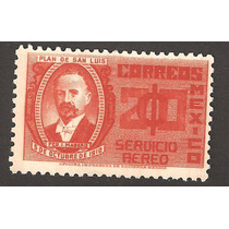 Estampilla Francisco I Madero 1935 Aerea Nueva Vbf