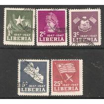 Liberia Centenario 1947
