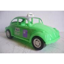Taxi Vw Beetle Volkswagen - Camioncito De Juguete Antiguo