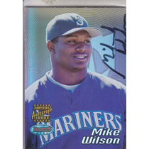 2002 Bowmans Best Rookie Autografo Mike Wilson Mariners