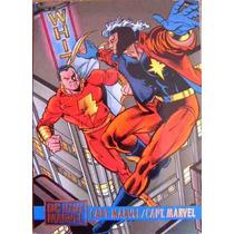 Shazam Capitan Marvel / Dc Vs Marvel Comics Cards 56