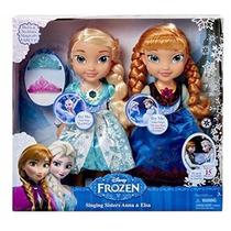 Frozen Snow Glow Anna Y Elsa Cantan Vestido Con Luces