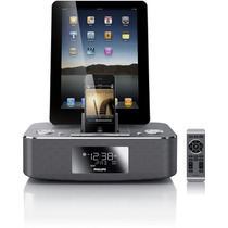 Radio Reloj Despertador Iphone Ipad Estereo Philips Dc390/37
