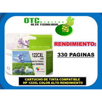 Cartucho De Tinta Compatible Hp 122xl Color Alt Rend Maa