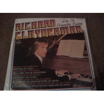 Disco Lp De Richard Clayderman Los 16 Grandes Exitos