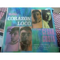 Cesar Costa Lp De 33 Rpm Los Exitos De