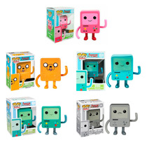 Funko Pop Set 5 Bmo Rosa Jmo Metalico Bemo Noire Adventure