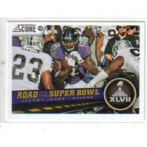 2013 Score #256 Jacoby Jones Rsb Cuervos De Baltimore