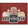 Chevrolet Trucks Lamina Poster Decorativo Anuncio Retro