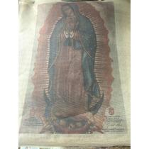 Imagen De La Virgen De Guadalupe Impresa En Ayate