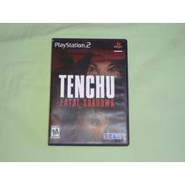 Ps2 Tenchu Fatal Shadow Caja (usado)