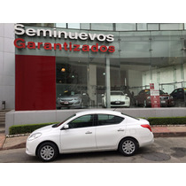 Precioso Nissan Versa Sense Aut. 4 Cil.1.6 Lts. 2014