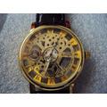 Reloj Kings Tipo Skelleton Maquina De Cuarzo Extpiel