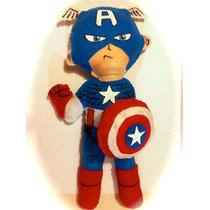 Peluches Chibi Avengers Capitan America Marvel Videojuegos