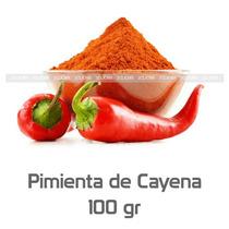 Pimienta De Cayena En Polvo 100 Gramos 2clicmx