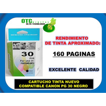 Cartucho Tinta Nuevo Compatible Canon Pg-30 Negro Vbf