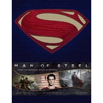 Libro De Arte The Art Of Man Of Steel Superman De Coleccion!