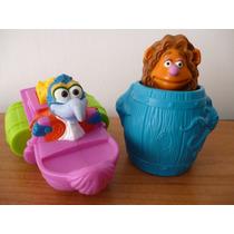 Muppets Fozzie Gonzo Rata Rizzo Rene Peggy