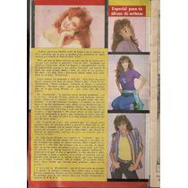 Lucía Méndez Silvia Pinal Revista Fotonovela Chicas 1984