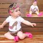 Baby Bloomer,pañalero Y Bandita Animal Print,minnie,corazon,