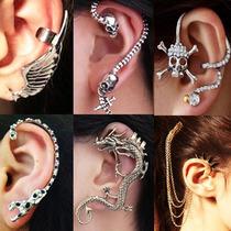 Ear Cuff Piercing Arete Gotico Vintage. Lote 10 Piezas