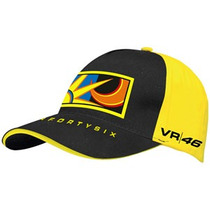 Valentino Rossi 2013 Sun & Moon Cap Black/yellow
