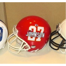 Mini Casco Nfl Kansas City Chiefs Y Nombre Jugador Nfl