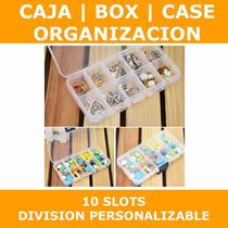 Caja Box Case Plastico Transparent Organizador Envio 10slots