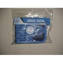 Cartera Del Cruz Azul Prod Oficial Con Cierre, 100% Orig