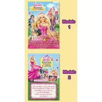 Invitaciones Cumpleaños Barbie Escuela De Princesas