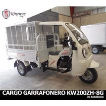 Motocarro Garrafonero 200cc 12 Meses Sin Intereses