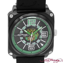 Reloj Ed Hardy Christian Audiger, Acero Piel 2 Sp0
