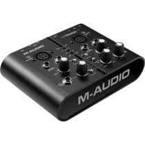 M-audio M-track+ Plus Interface Profesional 24 Bits Protools