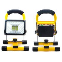 Reflector Portatil 30w 2400l Baterias Extra Efecto Patrulla