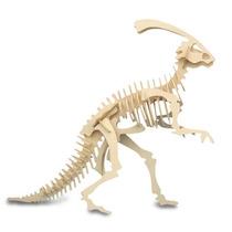 Dinosaurio De Madera - Juego De Parasaurolophus 3 Dimensione