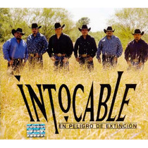 Intocable. En Peligro De Extincion Disco Cd