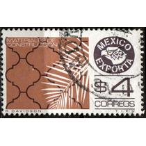 2551 Exporta 7° E Lagrima Aguila Pos#10 4pesos Usado 1984