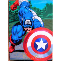 Capitan America / Marvel Comics Pepsi Cards 46 / Tarjetas