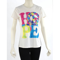 Camiseta, Estampado Colores Lucky Brand