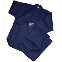 Dobok Azul Champion - Uniforme Tae Kwon Do - Asiana