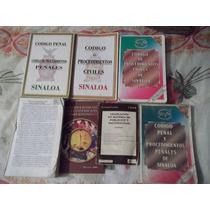 Set De Libros De Derecho Para El Estado De Sinaloa (ganga)