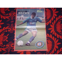 Poster Melvin Brown Cruz Azul 2001