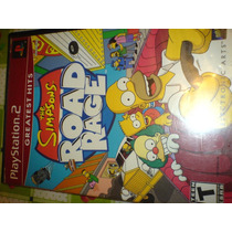 Simpsons Road Rage De Play 2 Slim O Fat