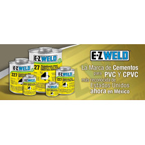 Cemento Para Cpvc Consistencia Media Amarillo