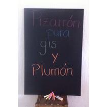 Pizarrones Negros De Pared Con Caja De Gises Y Plumón