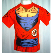 Playera Goku Adulto Dragon Ball Simbolo De La Tortuga!!