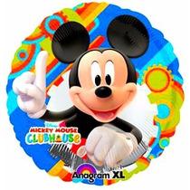 5 Globos Metalicos De Mickey Mouse De 18 Pulgadas, Fiestas