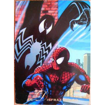 Spider Man Disfraz Negro / Marvel Comics Pepsi Cards 33